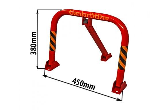 Blocator de parcare manual 380x450 mm